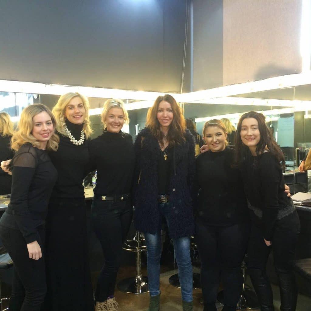 Celebrity Make Up Artist Lee Pycroft Visits Our Masa Make Up Students At Lsbm