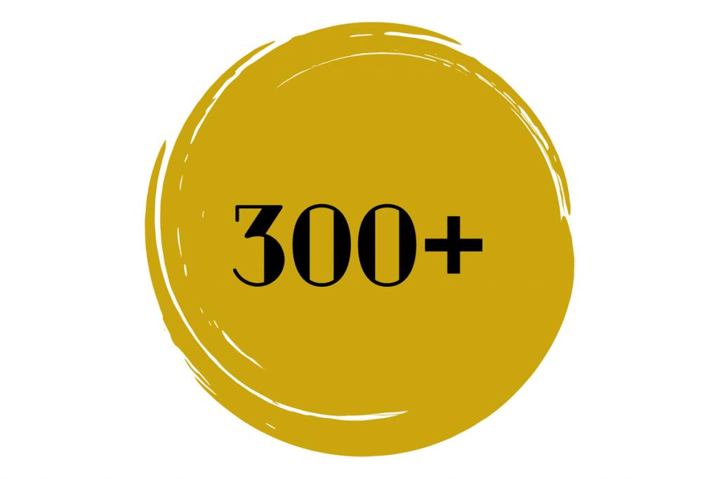 300+ Students